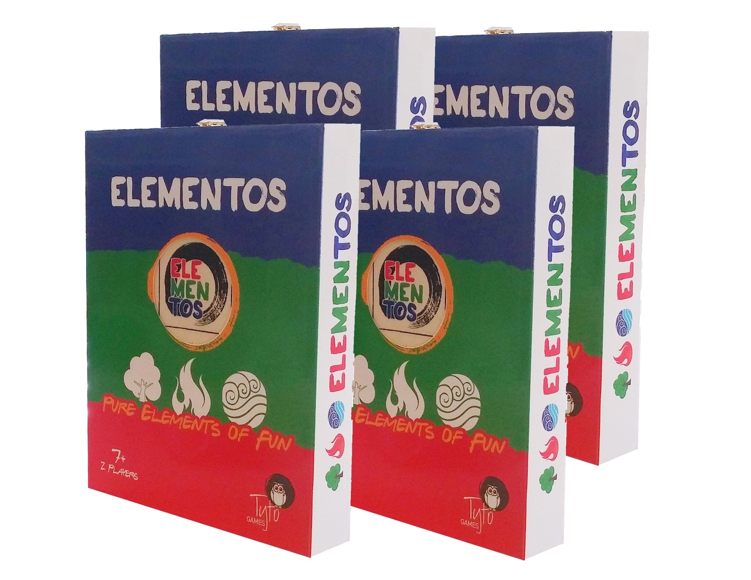 ELEMENTOS 4 pack for a special price
