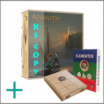 AZIMUTH: Ride The Winds - Add 1 copy of ELEMENTOS to your pledge
