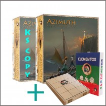 AZIMUTH: Ride The Winds - Add 1 more Azimuth and 1 copy of ELEMENTOS to your pledge