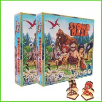 Stone Daze Strategy Simultaneous Movement and Action Programming Tactics Board Game - 2 Pack - Dice Tower Approved!