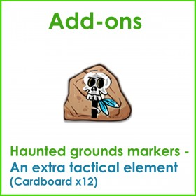 Stone Daze Kickstarter Haunted Grounds Add-on