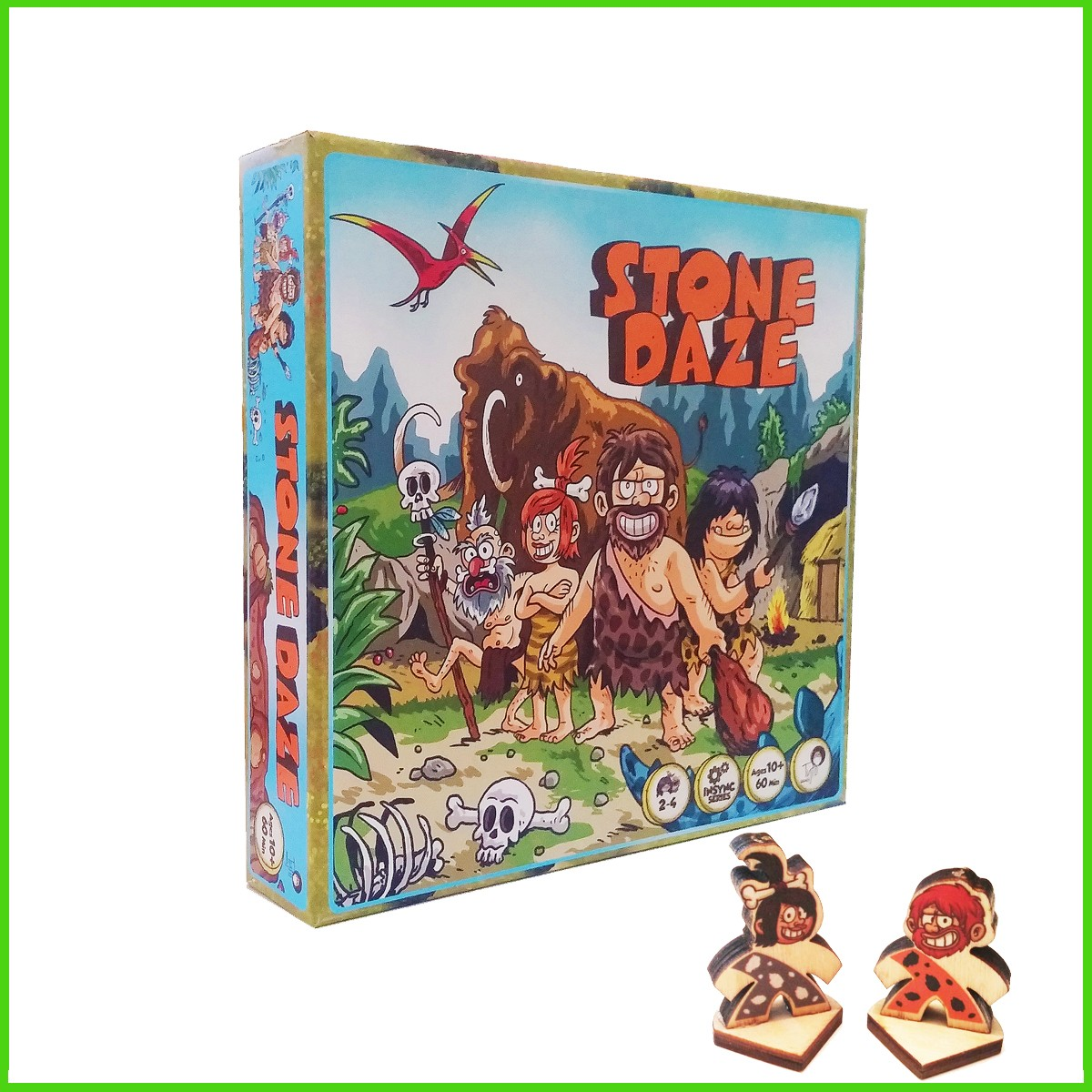 Stone Daze Strategy Si-Mov Board Game