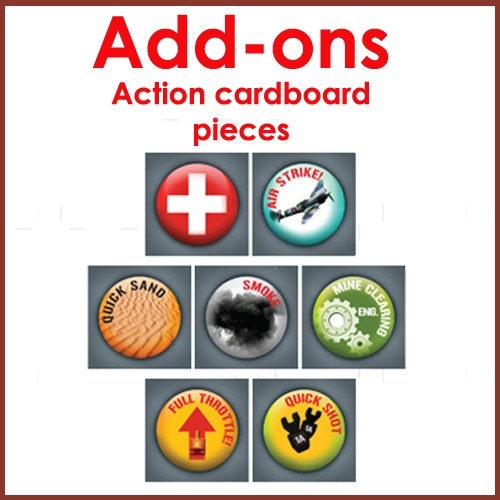 Add ons to Final Act strategy board game