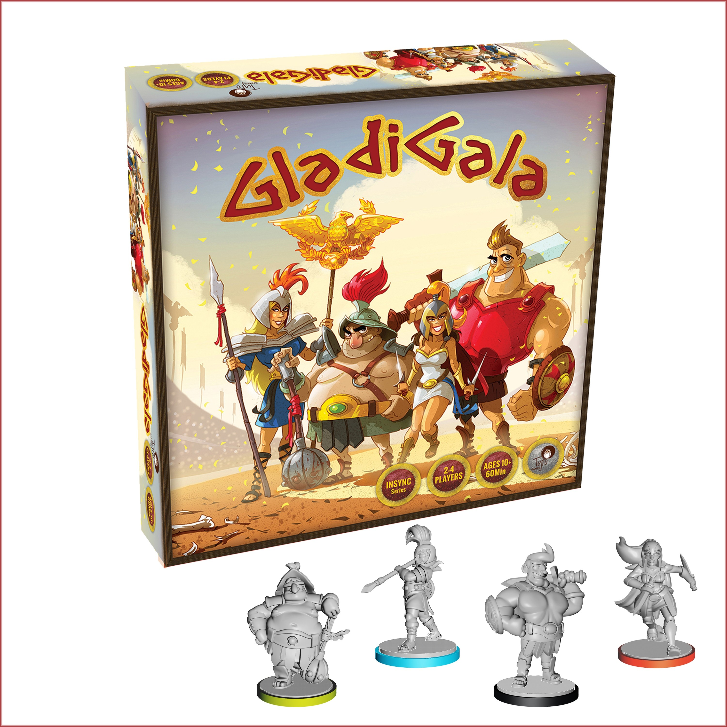 GladiGala Strategy Miniature Boardgame