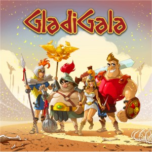 GladiGala Strategy Simultaneous Magnetic Control Boardgame