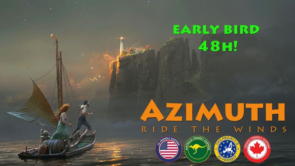 Azimuth Game Kickstarter Early Bird Special for 48 hours only