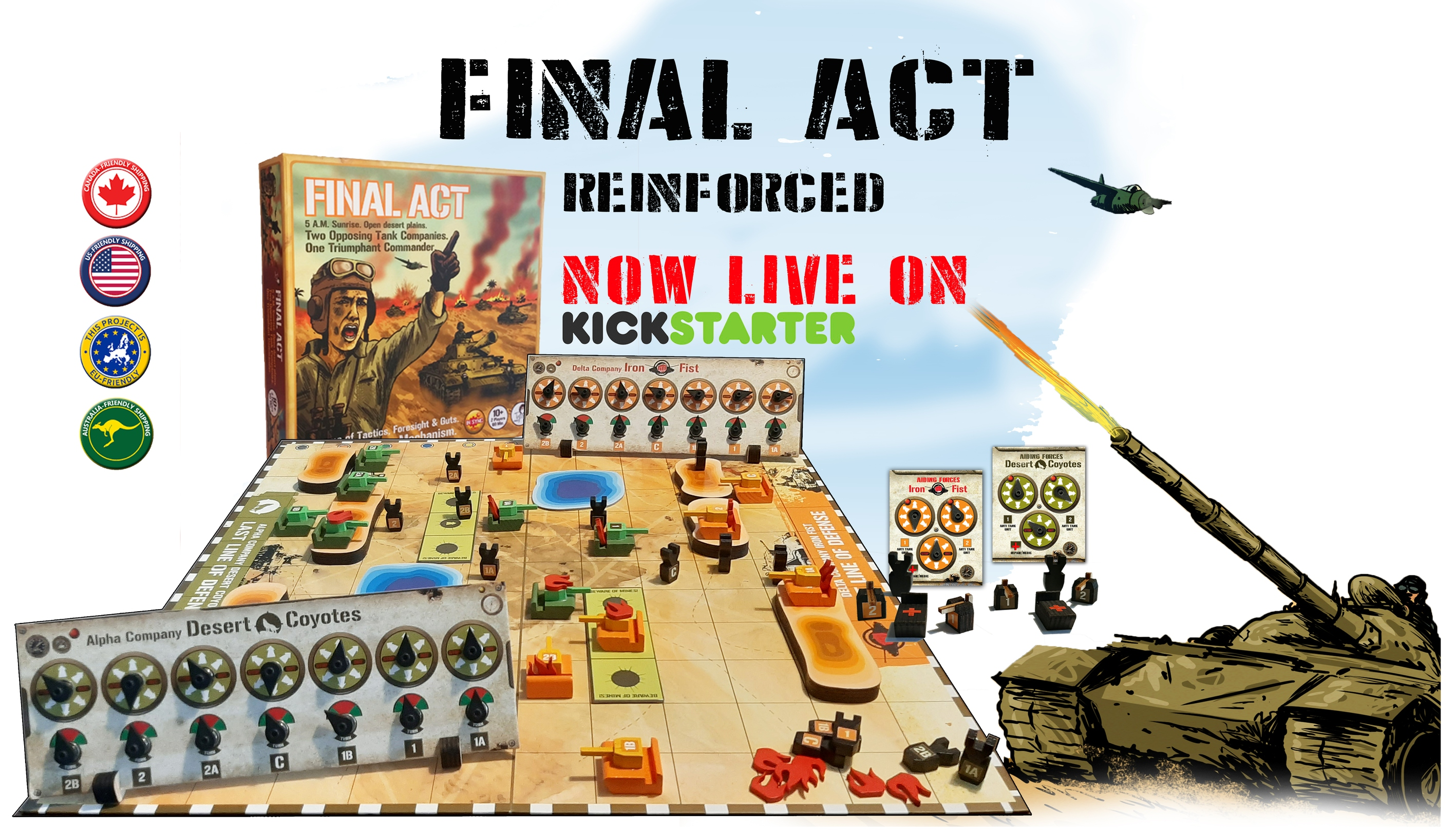 Final Act REINFORCED on Kickstarter